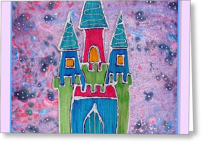 Souls Greeting Cards - The castle whispers Greeting Card by Aqualia