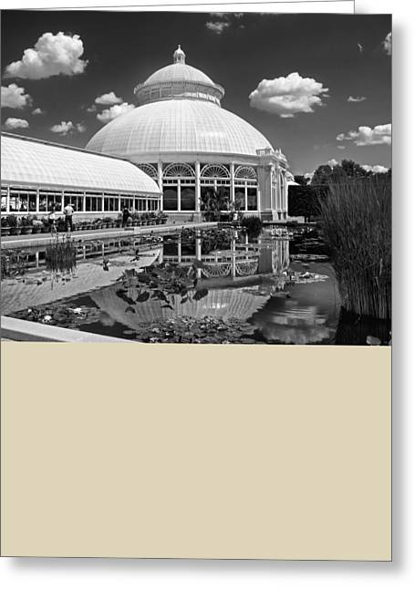 Conservatory Greeting Cards - The Conservatory Greeting Card by Jessica Jenney