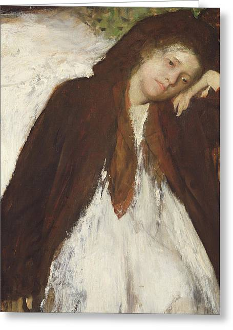 The Convalescent Greeting Card by Edgar Degas