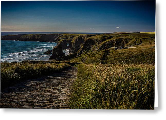 The Cornish Coast Greeting Card by Martin Newman