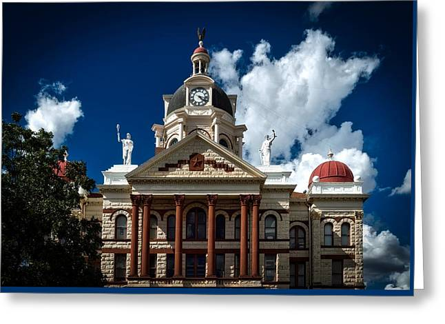 The Coryell County Courthouse Greeting Card by Mountain Dreams