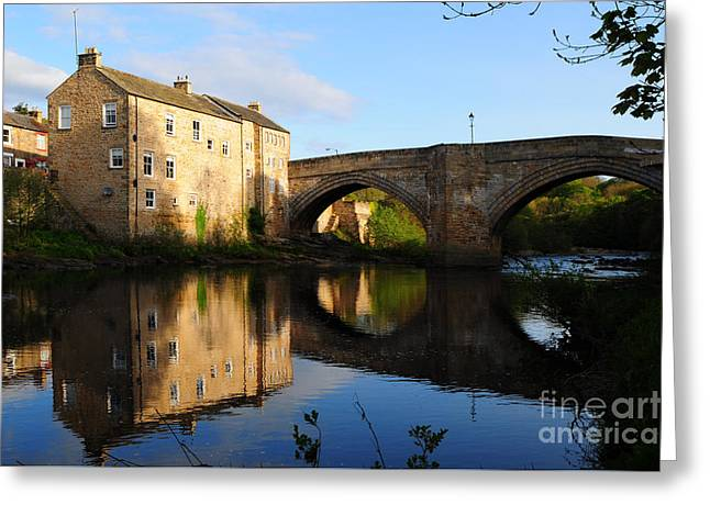 The County Bridge Greeting Card by Stephen Smith