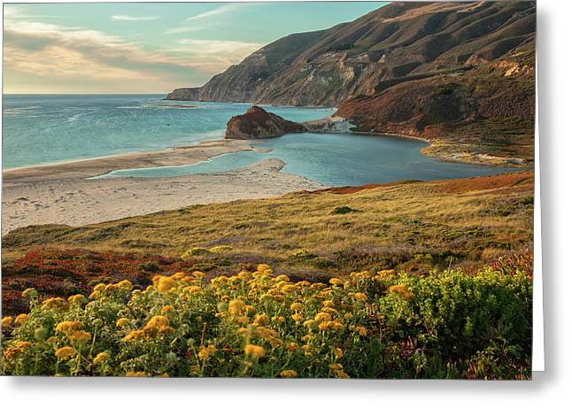 Big Sur California Greeting Cards - The Cove  Greeting Card by Jonathan Nguyen