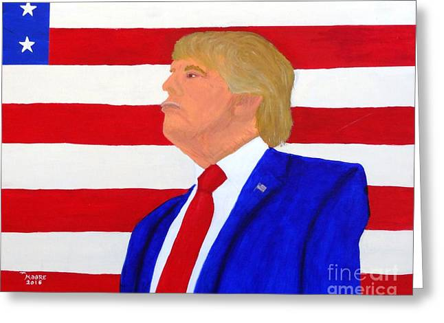 The Don Greeting Card by Michael Moore