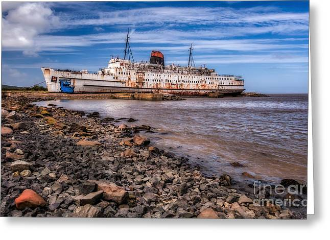 Rust Greeting Cards - The Duke of Lancaster  Greeting Card by Adrian Evans