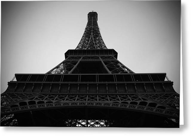 Dslr Greeting Cards - The Eiffel Tower Greeting Card by Kamil Swiatek