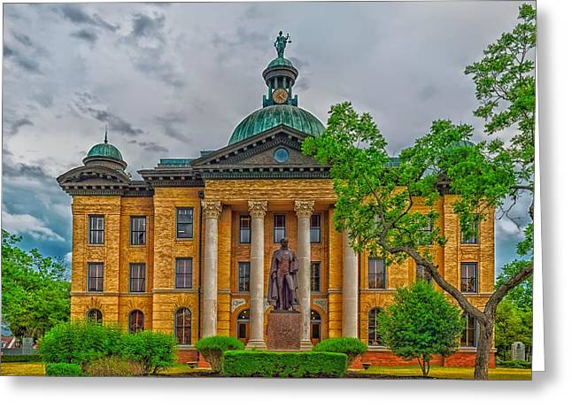 The Fort Bend County Courthouse Greeting Card by Mountain Dreams