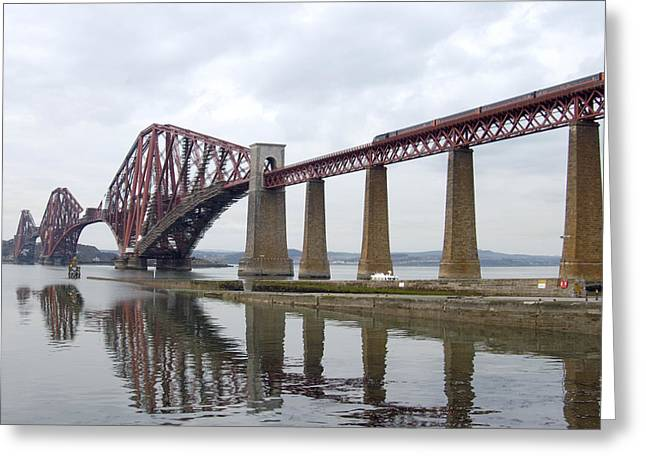 Iron Greeting Cards - The Forth - Scotland Greeting Card by Mike McGlothlen