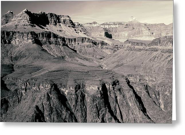 The Grand Canyon, Arizona Greeting Card by Aidan Moran