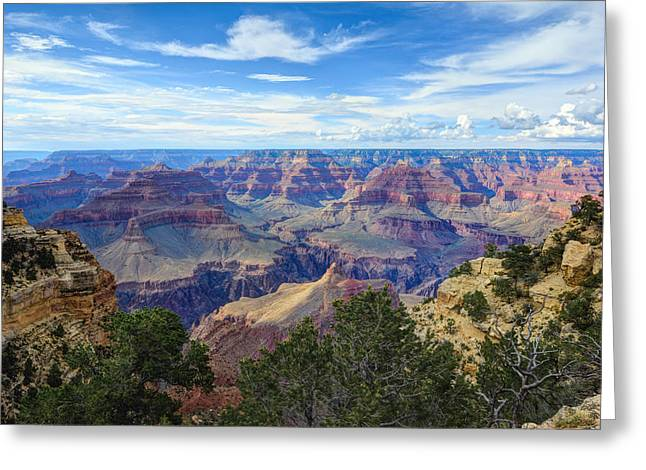 Beauty Mark Greeting Cards - The Grand Canyon Greeting Card by Mark Whitt