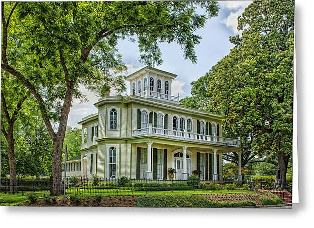 The Houses Photographs Greeting Cards - The Historic House of the Seasons Greeting Card by Mountain Dreams
