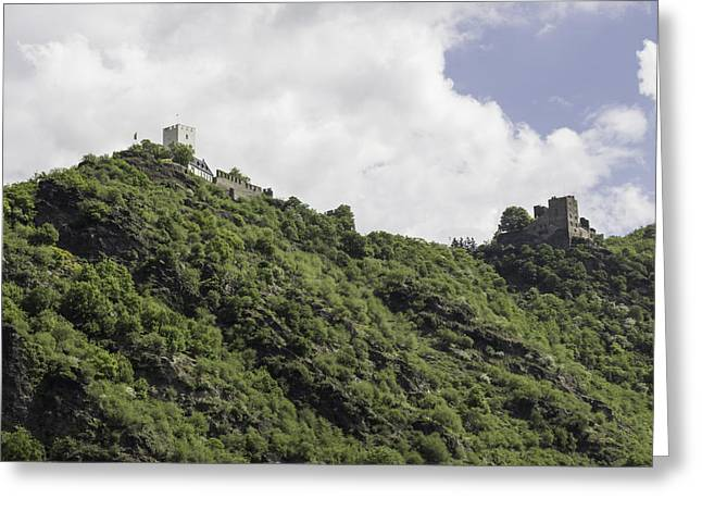 Boat Cruise Greeting Cards - The Hostile Brothers Castles Greeting Card by Teresa Mucha