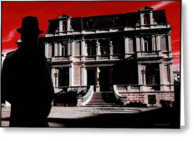 The Houses Greeting Cards - The House Of The Baroness  Greeting Card by Daniel  Arrhakis
