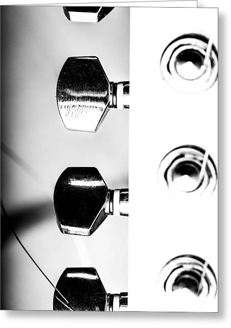 The Love Of My Guitar Parts Of Greeting Card by Toppart Sweden