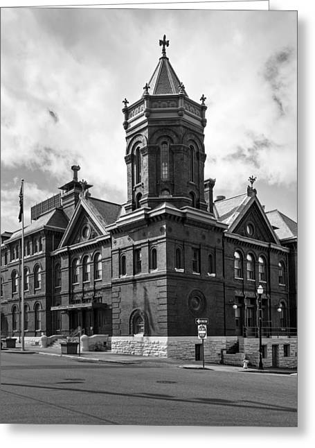 Old Street Greeting Cards - The Mississippi River Commission Building - Vicksburg Greeting Card by Mountain Dreams