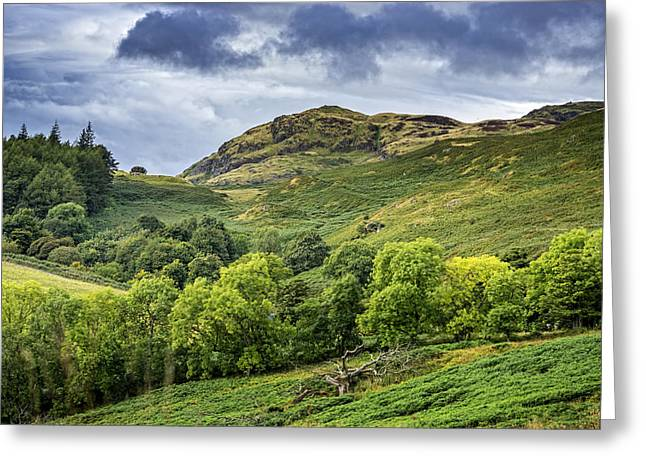 Jeremy Greeting Cards - The Ochils Greeting Card by Jeremy Lavender Photography