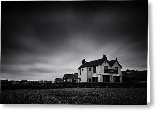 Public House Greeting Cards - The Old Neptune Greeting Card by Ian Hufton