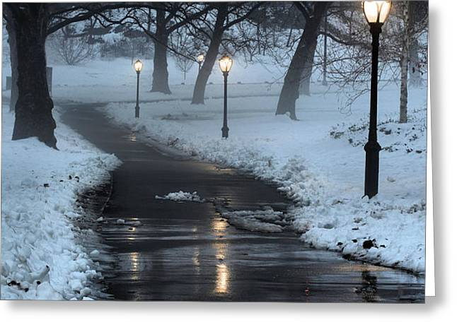 The Path Greeting Card by JC Findley