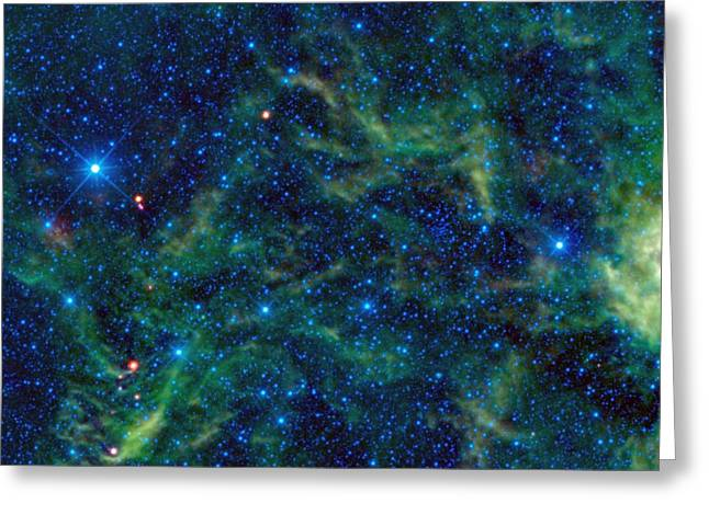 The Star Cluster Ngc 2259  Greeting Card by American School