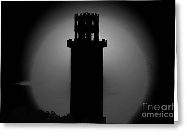 Sulphur Spring Greeting Cards - The Tower Greeting Card by David Lee Thompson