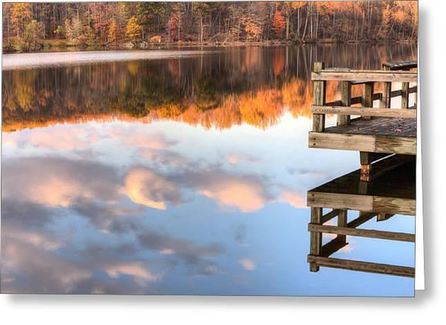 Hunting Camp Greeting Cards - The View Greeting Card by JC Findley