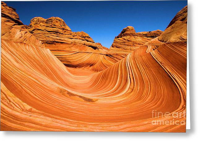 Adam Jewell Greeting Cards - The Wave Greeting Card by Adam Jewell