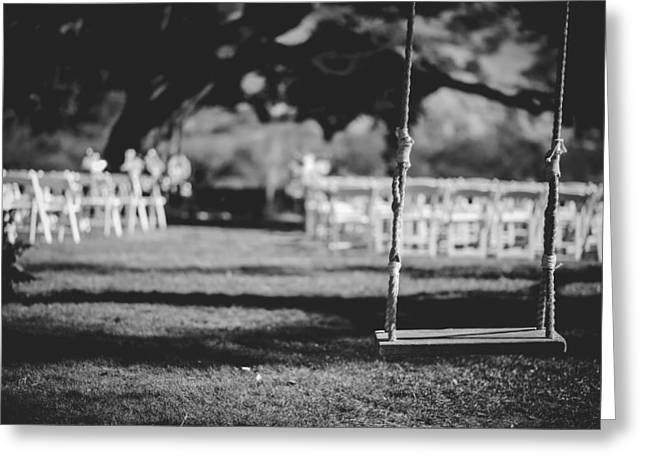 Setup Greeting Cards - The Wedding Day Greeting Card by Ben Rosett