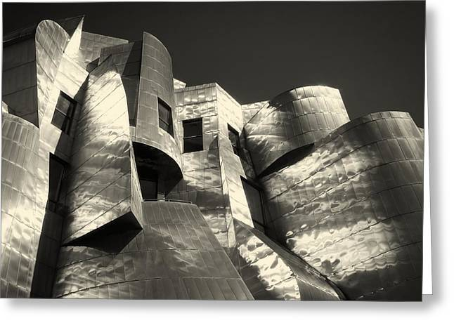 University Of Minnesota Greeting Cards - The Weisman Art Museum Of Minneapolis - Architectural Detail Greeting Card by Mountain Dreams