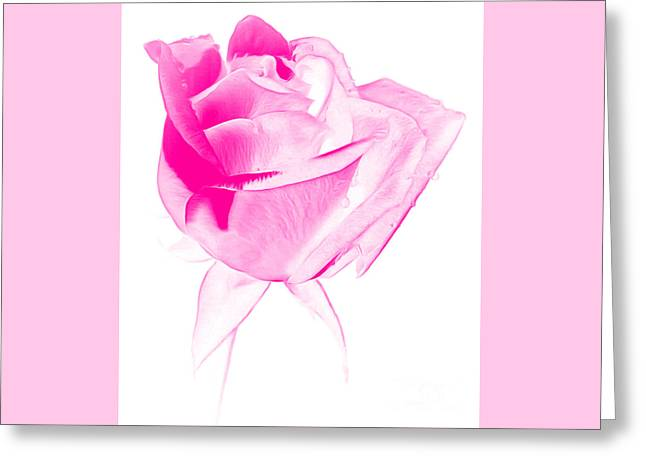 Think Of Me Greeting Card by Krissy Katsimbras