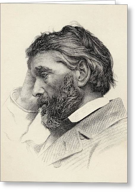Historian Drawings Greeting Cards - Thomas Carlyle, 1795 To 1881. Scottish Greeting Card by Vintage Design Pics