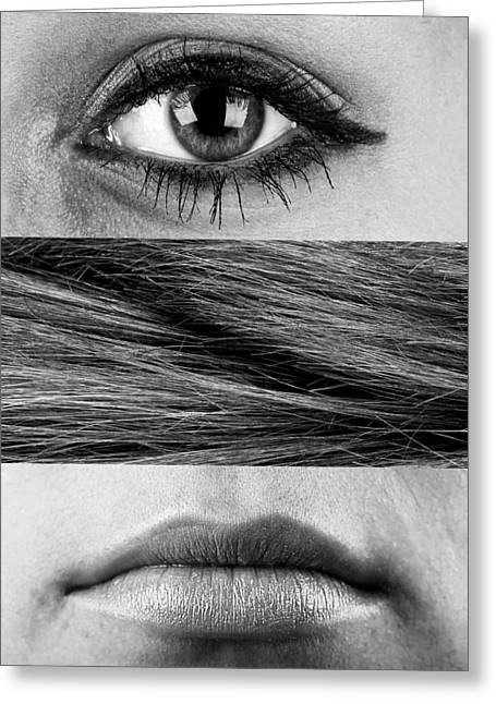 Eyelash Greeting Cards - Those Things About a Woman Greeting Card by Tereza Krizkova