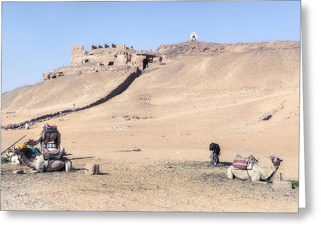 Nils Greeting Cards - Tombs of the Nobles - Egypt Greeting Card by Joana Kruse