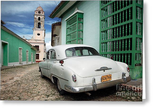Yanks Greeting Cards - Trinidad - Cuba Greeting Card by Rod McLean