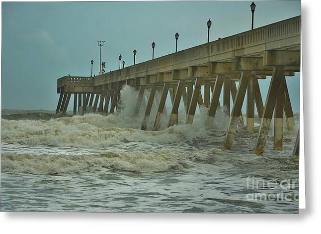 Featured Art Greeting Cards - Tropical Storm Ana 2 Greeting Card by Bob Sample