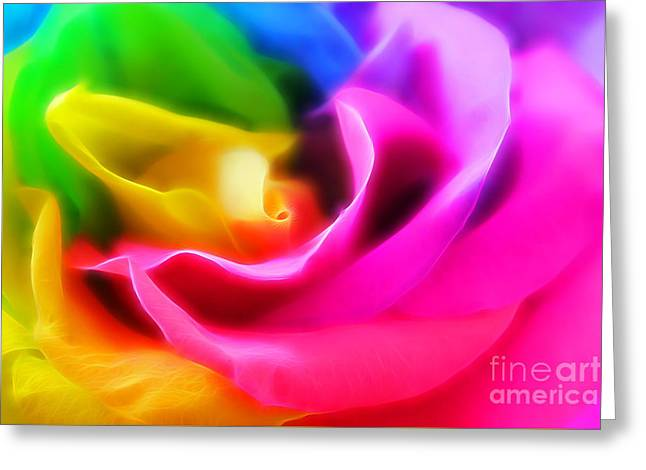 True Colors Greeting Card by Krissy Katsimbras