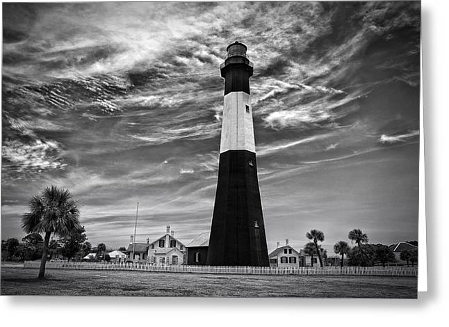 Mccoy Greeting Cards - Tybee Island Lighthouse Greeting Card by A Different Brian Photography