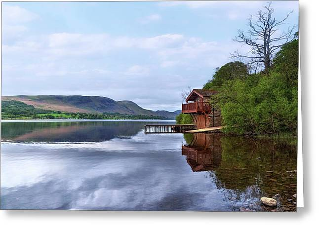 Ullswater - Lake District Greeting Card by Joana Kruse