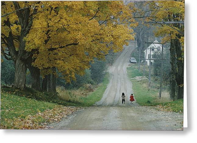Untitled Greeting Card by B. Anthony Stewart