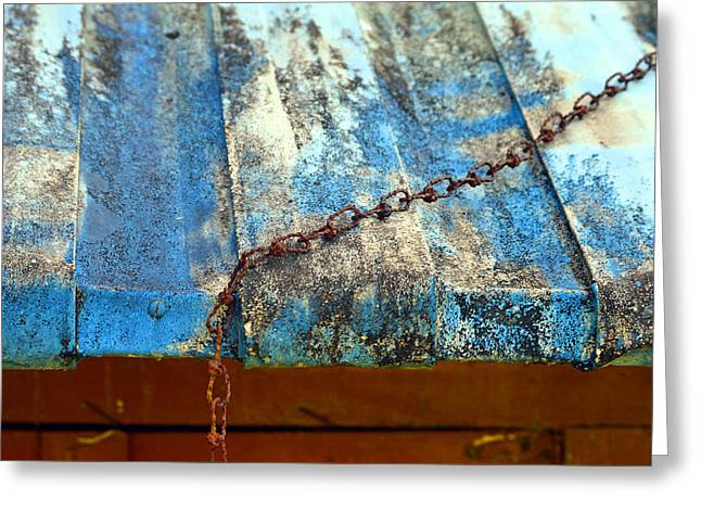 Tin Roof Paintings Greeting Cards - Untitled Greeting Card by Daniel Butterworth