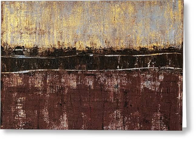 Rothko Greeting Cards - Untitled No. 4 Greeting Card by Julie Niemela