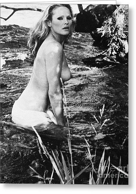1960s Movie Stars Greeting Cards - URSULA ANDRESS (b. 1936) Greeting Card by Granger