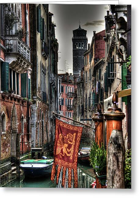 Venice Greeting Card by Andrea Barbieri