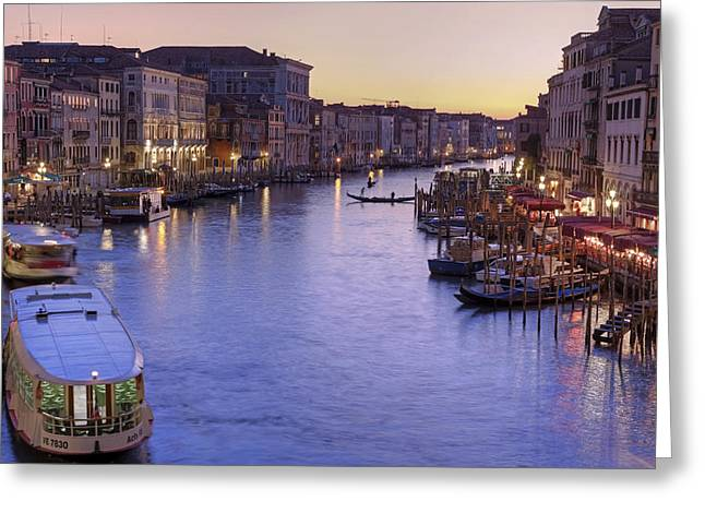 Venice Canal Grande Greeting Card by Joana Kruse