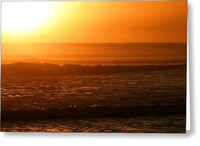 Ventura California Greeting Cards - Ventura Sunset Greeting Card by Henrik Lehnerer