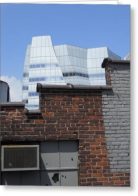 The Iac Building Greeting Cards - View from The High Line Greeting Card by Jim Ramirez