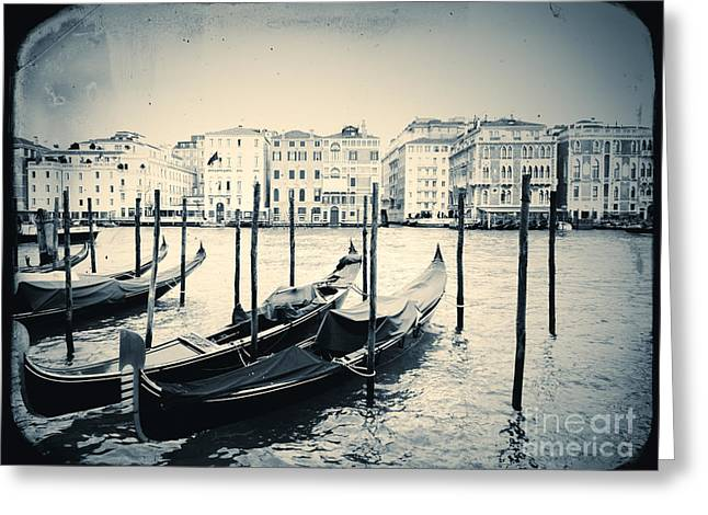 Dorsoduro Greeting Cards - View of Venice Greeting Card by A Cappellari