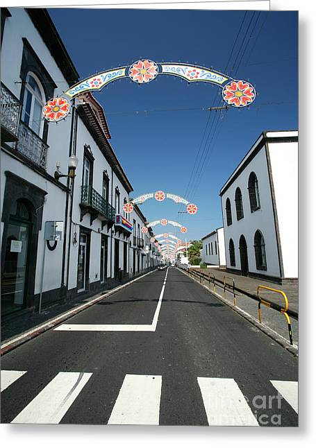 Vila Franca Do Campo, Azores Greeting Card by Gaspar Avila