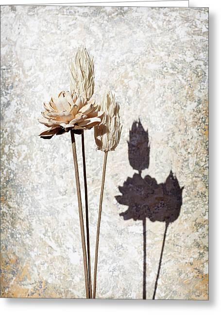Vintage Floral 1 Greeting Card by Al Hurley