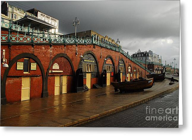 Welcome To Brighton Greeting Card by Stephen Smith