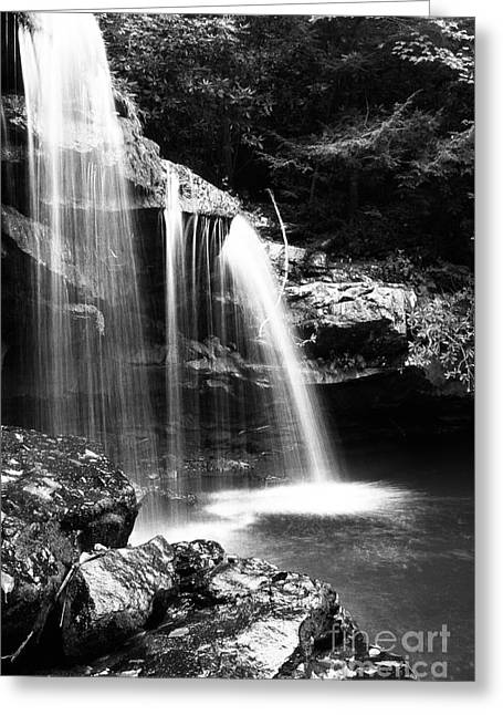 Mccoy Greeting Cards - West Virginia Waterfall  Greeting Card by Thomas R Fletcher